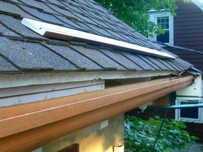 Wooden Gutter Restoration Newton Ma