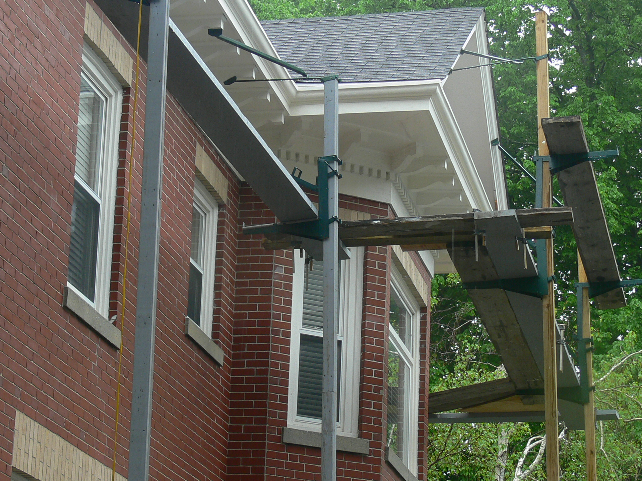 Old Growth Wood Gutter Inspection And Repair In Newport