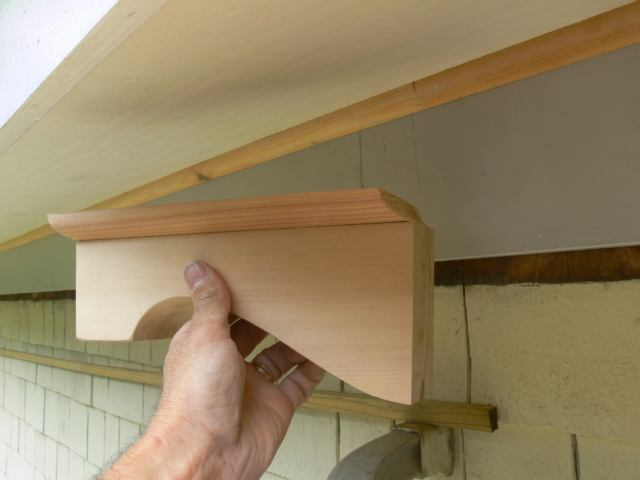 New Cornice To Take A 1960 S Addition Back To 1900 Part I