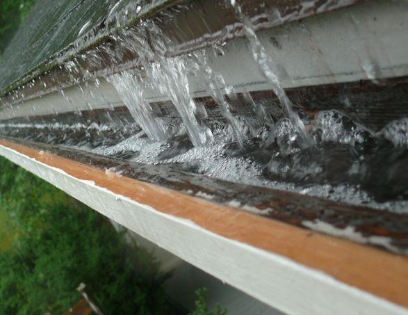 Roof Drip Edge Failure