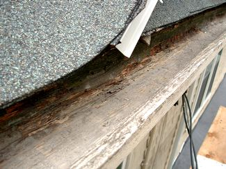 Wooden Gutter Repair The East Side One Section 36